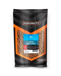 Sonubaits F1 feed pellets 6 mm 900 gram