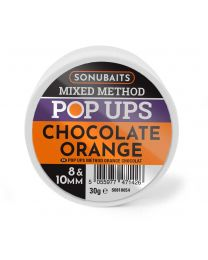 Sonubaits pop ups chocolate orange 8&10mm