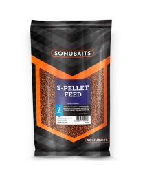 Sonubaits S-Pellet Feed 2 mm 1 Kg