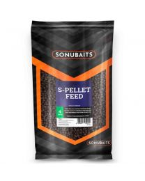 Sonubaits S-Pellet Feed 4mm 1 Kg