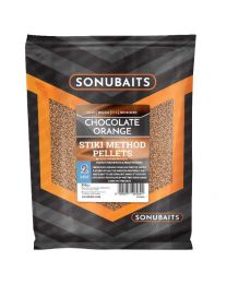 Sonubaits stiki method pellets chocolate orange 2mm