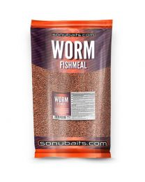 Sonubaits worm fishmeal groundbait
