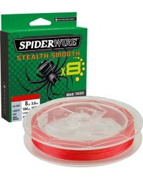 Spiderwire 0.11mm red 150mtr