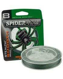 Spiderwire stealth smooth 8 green 0.40mm