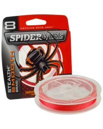 Spiderwire stealth smooth 8 red 0.10mm