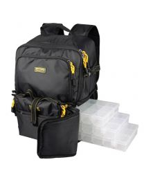 Spro back pack 2 + 4 boxen en rig wallet