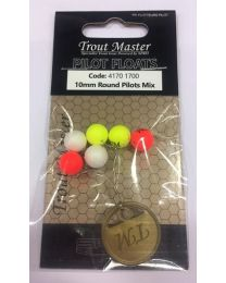 Trout Master round pilots mix 15mm