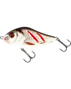 Salmo slider 10cm wounded real grey shi