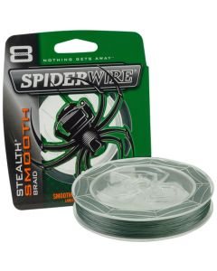 Spiderwire stealth smooth 8 green 0.17mm