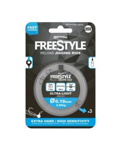 Spro freestyle reload jigging rigs 0.35mm