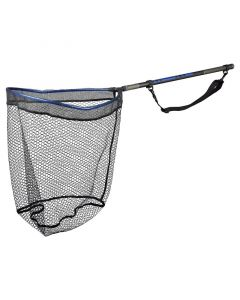 Spro Freestyle Rubber Net Black 50x40
